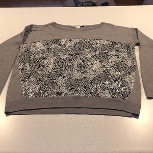 Diane Von Furstenberg Sweaters - Diane von Furstenberg grey wool Gracie sweater M